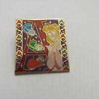 Disney Storybook Initial Aurora Pin