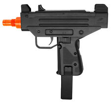 Airsoft Gun M33 SMG Pistol Spring Action Air Powered 250 FPS BB Black