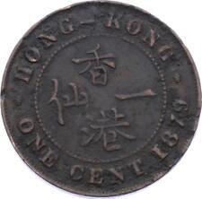 O1929 Hong Kong 1 cent Victoria 1879 -> M offer