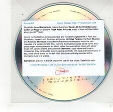 (FS577) Varbarisms, Easier All The Time / Macauley Culkin On Pizza - 2014 DJ CD
