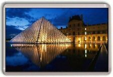 Louvre Museum Paris France Fridge Magnet 01