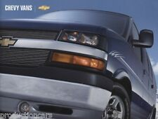 2004 Chevrolet Chevy Express Van Sales Brochure Book