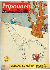 Fripounet Marisette Coeurs Vaillants  N° 6 du 7 FEVRIER 1963 bon etat