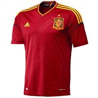 adidas Spain Home Jersey Ages 9/10 11/12 RRP £45 BNWT EURO 2012