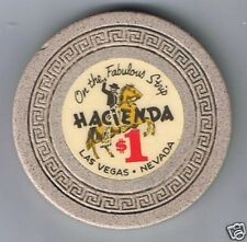 Hacienda Casino Horse Rider $1.00 Casino Chip 1960's