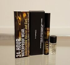 MAC 24 Hour Waterproof Mascara Up For Everything BLACK Free Cleansing Oil NEW