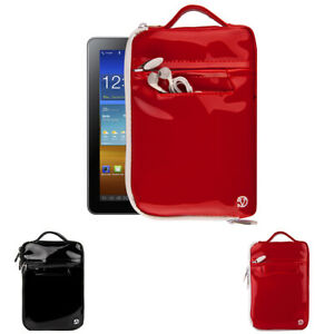 """VanGoddy Patent Leather Tablet Sleeve Case Carrying Bag For 7"""" New Amazon Fire 7"""