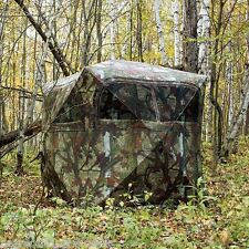 2 Man Barronett Grounder Blind GR251BT BloodTrail 59X59X67 BOX DAMAGE