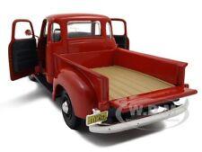1950 CHEVROLET 3100 PICKUP TRUCK OMAHA ORANGE 1:25 MODEL CAR BY MAISTO 31952