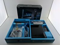 Console nintendo wii black resort + Mario game ovp boxed working