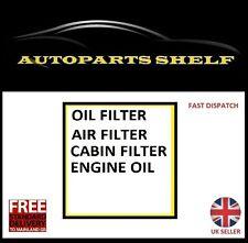 Peugeot 108 1.0 OIL AIR CABIN FILTER 5W30 OIL LOW SAPS SERVICE KIT