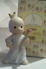 """1995 Precious Moments MIB, """"A Prince of a Guy"""", SHIP understamp app. 5 3/4"""" tall"""