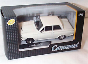 Ford Cortina MK1 White 1-43 scale new in box