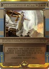 Force de Volonté PREMIUM / FOIL PROMO - Force of Will - Invocation Magic Mtg -
