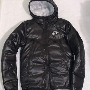 Nike Sportswear Synthetic Fill Windrunner Repel Puffer Jacket Black Mens Size XS