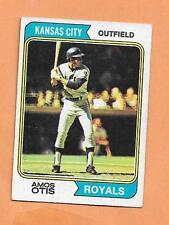 AMOS OTIS  TOPPS 1974  CARD # 65