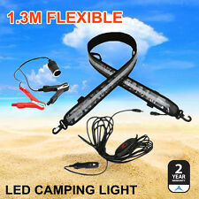 12V 1.3M FLEXIBLE LED CAMPING LIGHT 5050 SMD CARAVAN BOAT WATERPROOF BAR STRIP