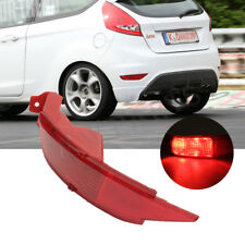 Left Side Rear Bumper Reflector Light For Ford Fiesta Mk7 Hatchback 2009-2014