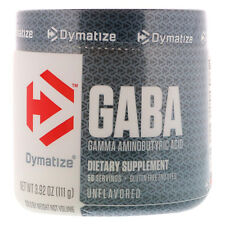 Dymatize Nutrition GABA Amino Acid Neurotransmitter Unflavored 111g Calming Supp