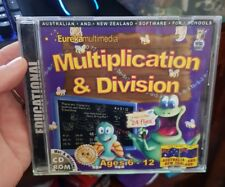 Multiplication & Division Ages 6-12 -   PC GAME - FREE POST *