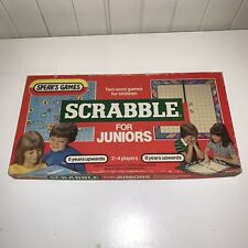 Vintage 1959 Junior Scrabble For Juniors Game Spears Games