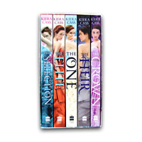 The Selection Series 5 Books Young Adult Box Set Collection Set By Kiera Cass