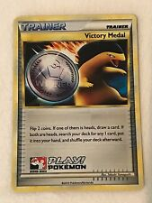 Pokemon Victory Medal Winner (Silver) 2010-2011 Typhlosion Promo Card