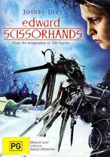 Edward Scissorhands - Johnny Depp, Winona Ryder, Tim Burton - DVD