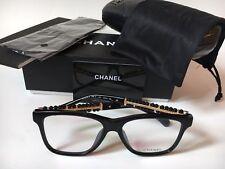 NEW CHANEL CH 3368-B c.501 Black Pearl Eyeglasses Frames