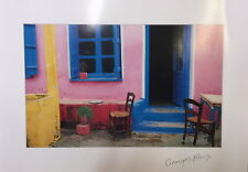 Print Set of 2 images by George Meis Athens 35x50cm High GSM Quality