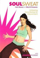 Soulsweat HOT MOVES - WORLD GROOVES DVD with Chantal Pierrat Dance Workout New
