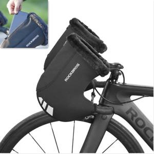 ROCKBROS Handlebar Mittens MTB Road Bike Windproof Commuter Warmer Gloves Covers