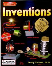 Inventions Kit  Educational Fun Kids Children Science Kit Playing Learning