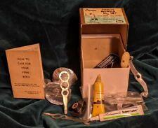 Penn fishing gear, Random Vintage lube, parts, Tools, Handle, Vintage Manual