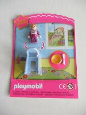 Playmobil Baby im Hochstuhl Stuhl mit Teller und Löffel limitiert NEU OVP