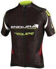 Endura Equipe Racing Team Replica Mens Short Sleeve Jersey Medium Black