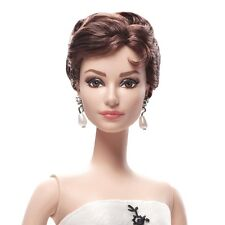 2013 Audrey Hepburn as Sabrina Silkstone Barbie Doll Gold LabeL--- #X8277
