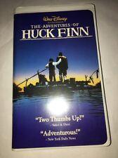 The Adventures of Huck Finn, VHS,Walt Disney,Elijah Wood, Courtney Vance,108 Min