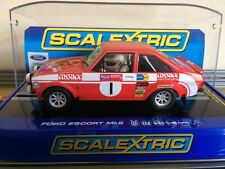 Scalextric Ford Escort Mk2 Roger Clarke Welsh Rally Winner 1975 C3483 BNIB