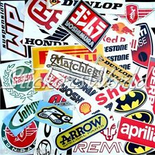 30+ MOTORCYCLE BIKE MotoGP etc Clearance Overstock & 2nd Quality Stickers Decals