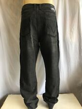 ANTIK Denim *BOOTCUT Jeans Men's NWT RINSE BLACK W/EMBROIDERED Pocket *54x32
