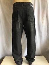 ANTIK Denim *BOOTCUT Jeans Men's NWT RINSE BLACK W/EMBROIDERED Pocket *54x32