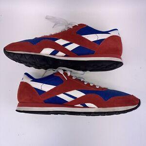 Reebok Classic Nylon Mens Shoes Size 12 US Scarlet/Royal/White/Black M44316