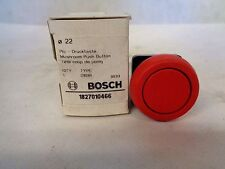NEW BOSCH TYPE D1B1R MUSHROOM PUSH BUTTON OPERATOR-RED