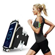 Universal Sport Armband für Smartphones 4,0 - 7,0 Zoll Fitness Tasche Schwarz