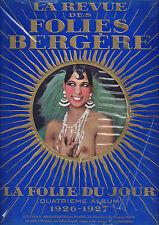 """FOLIES BERGERE"" starring JOSEPHINE BAKER in Paris, France 1926 Souvenir Program"