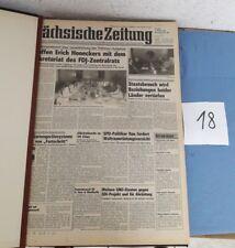 Sächsische Zeitung -Organ Der Bezirksleitung Dresden der SED Geb Ausgabe (18)