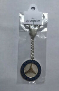 Mercedes-Benz Curb Keyring / Keychain (*All Sterling Silver 925)