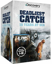 Deadliest Catch - 10 Years At Sea - Seasons 1-10 - 46 DVDSET - NEW SEALED SERIES