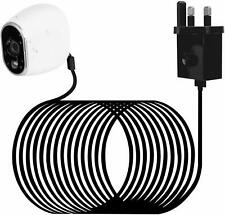 Waterproof Outdoor Power Adapter for Arlo HD Security Camera 26ft/8m Black New